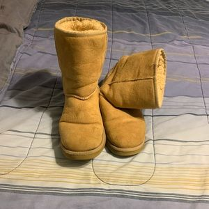 UGG boots. Size 9. Sand.